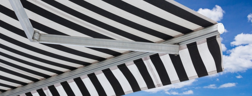 A Striped Awning